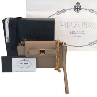 Prada Cammeo Saffiano Fiocco Shoulder Bag