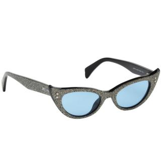 Just Cavalli Glitter Cat Eye Sunglasses