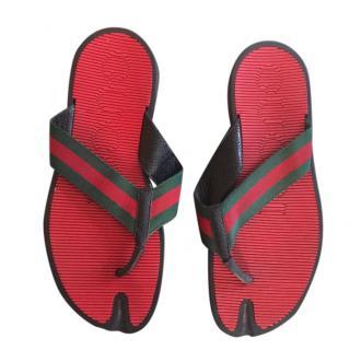 Gucci men's sandals size 10