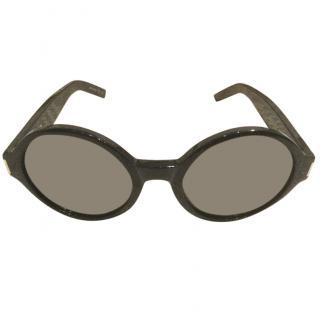 Yves Saint Laurent round sunglasses
