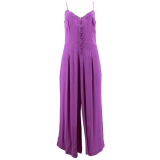 Free People Purple Jumpsuit