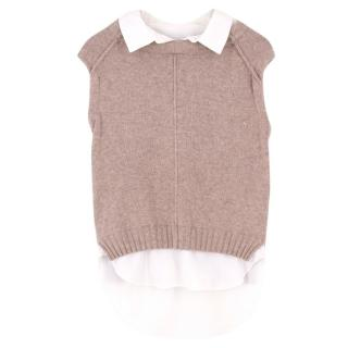 Brocho Walker Wool & Cashmere Sweater Vest