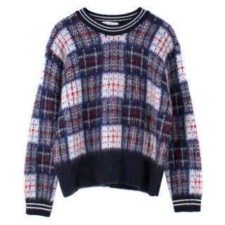 Sandro Mohair Wool Sweater