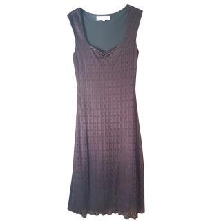 Ronit Zhilka Sleeveless Textured Dress