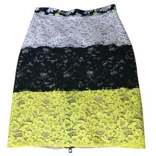 Sportmax Lace Pencil Skirt