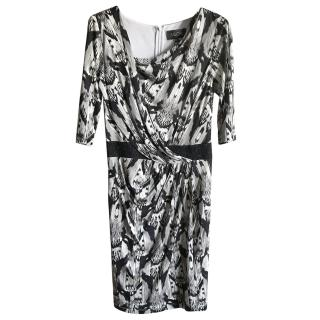 Saloni '' Bea'' Silk Jersey Dress