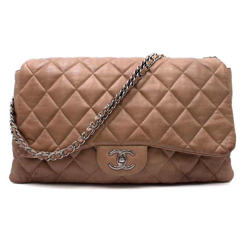 Chanel Maxi Lambskin Classic Flap Bag