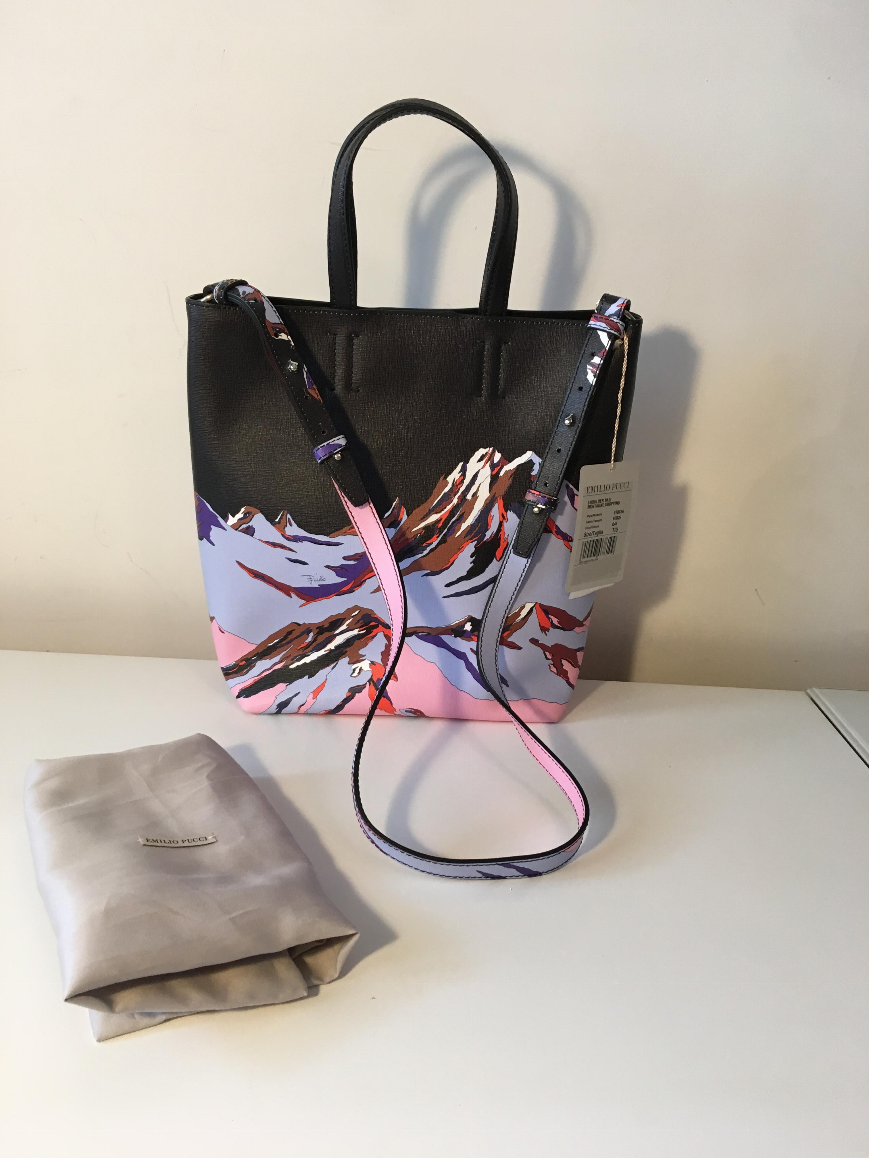 54ab8b909645 Emilio Pucci Montagne Shoulder Bag. 27. 12345678910