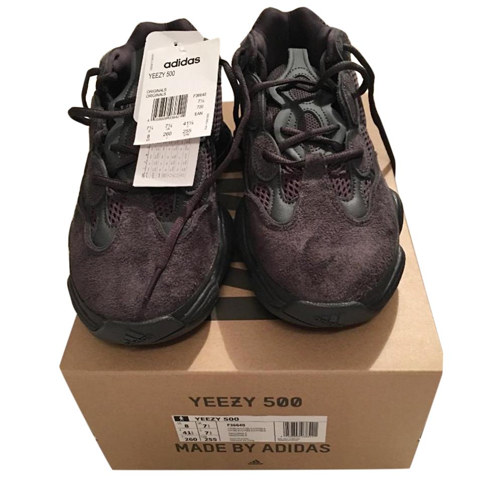 Adidas Yeezy 500 Utility Black Trainers