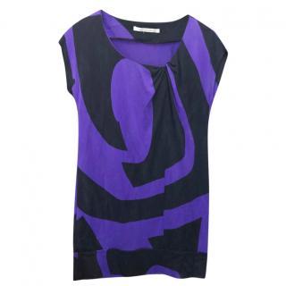 Diane Von Furstenberg Printed Tunic Dress