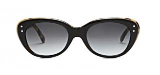 Oliver Goldsmith Sophia 1958 Black/Yellow Shell Sunglasses