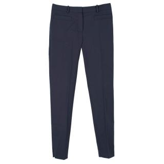 Christian Dior Navy Cigarette Trousers