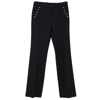 Phillip Lim Black Straight Leg Trousers