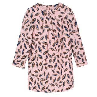Bonpoint Girl's Pink Feather Dress
