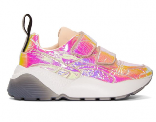 Stella McCartney Pink Metallic Eclypse Sneakers