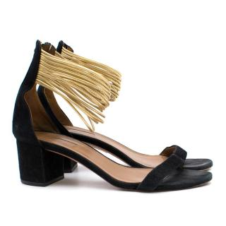 Aquazzura 'Spin me Around' Mid Block Heeled Sandals