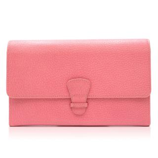 Aspinal of London Pink Classic Travel Wallet