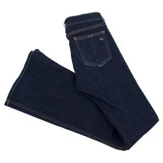 Rag & Bone Dark Denim Bootcut Jeans