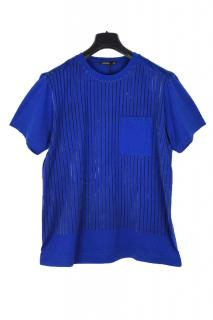 Christopher Kane striped blue T-shirt