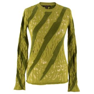 Louis Vuitton Textured Knit Top