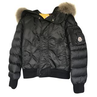Moncler Girl's Hooded Jacket