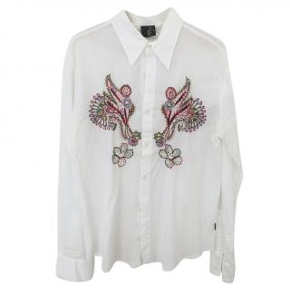Just Cavalli Embroidered Shirt