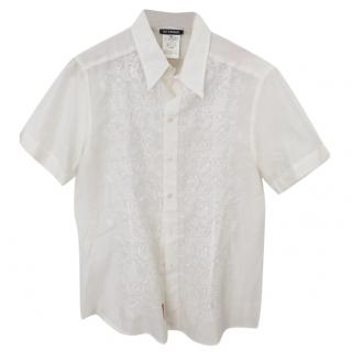 Gianfranco Ferre Embroidered Shirt