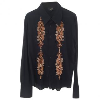 f68ac20ba0d Just Cavalli Embroidered Shirt