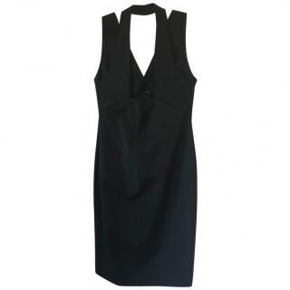 Dion Lee Cutout Crepe Fitted Dress