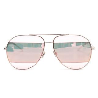 Dior Split Aviator Sunglasses
