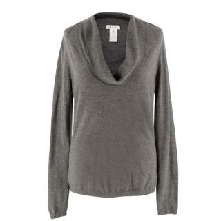 Celine Cashmere Cowl Neck Sweater