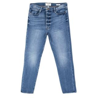 Frame Denim Faded Wash Jeans