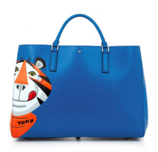 Anya Hindmarch Frosties Maxi Featherweight Ebury tote