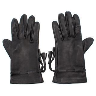 Pickett Burlington Arcade Black Leather Gloves
