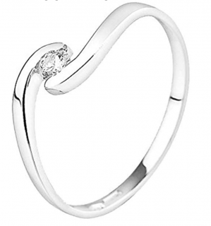 & You 18kt White Gold Diamond Ring