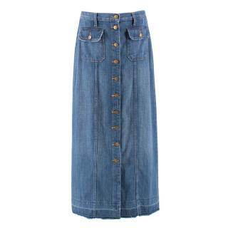 Current Elliott 'Sally' Denim Skirt