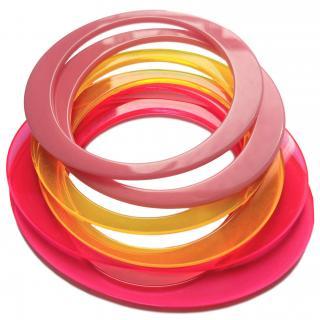 May mOma Double Set Fan Bright Summer Bracelets