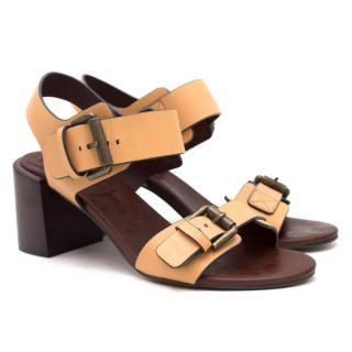 See By Chloe Block Heeled Sandals
