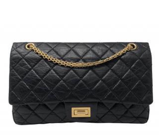 Chanel black 2.55 reissue bag