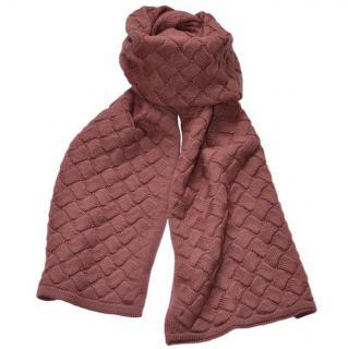 Bottega Veneta Intrecciato wool Scarf