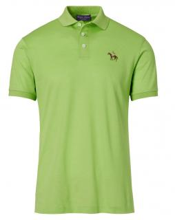 Ralph Lauren Purple Label lime-green cotton polo shirt