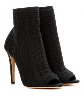 Gianvito Rossi Vires Open Toe Ankle Boots