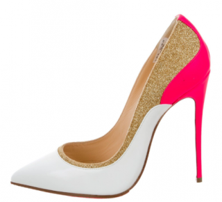 Brand new Christian Louboutin Tucsick pointed-toe pumps