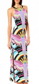 Mara Hoffman Rainbow Bird Maxi Dress