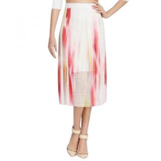 Elie Tahari rainbow skirt, size 10, UNWORN