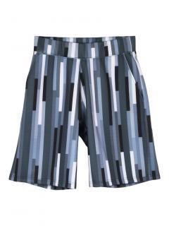 Christopher Kane geometric bolster print neoprene shorts