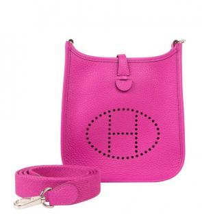Hermes Clemence Calfskin Evelyne III TPM Amazone Bag