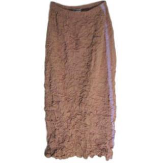 Issey Miyake Ruffle Pencil Skirt