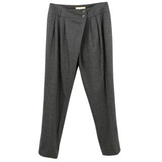 Michael Kors Grey Wool Trousers