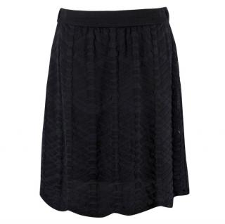 Missoni Wool-Blend Knit Skirt